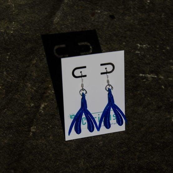 Klitta-korvakorut - sininen