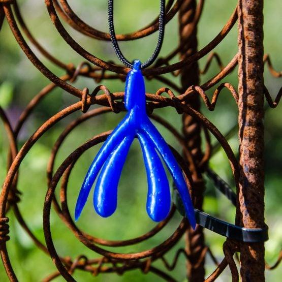 Klitta-riipus- Sininen