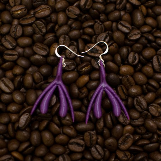 bCurious Klitta-korvakorut, violetti